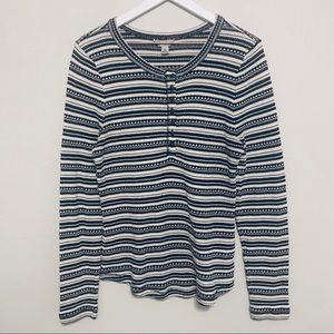 {Lucky Brand} Striped Patterned Thermal